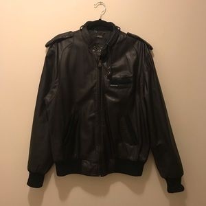 VTG Members Only Leather Jacket